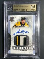 2017-18 The Cup Jake DeBrusk Rookie Patch Auto /249 BGS 9.5 10 Auto