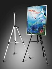 6 pack aluminum easels 66-inches art tripod stand for painting