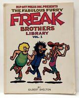 The Fabulous Furry Freak Brothers Library Volume 1 Shelton