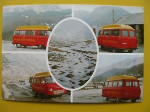 Post Office postcard Royal Mail postbus Duddon Valley free post