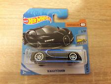 2020 Hot Wheels Hotwheels Bugatti Chiron - 1:64 1/64 Factory Fresh 7/10 Black