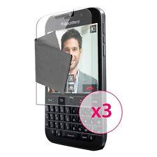 Films de protection BlackBerry Q20 Classic Ultra Clear HD Dureté 3H 0.12mm X3