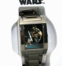 Star Wars Watch Disney Park Mickey Limited Ed 500 Made Grey Ion Finish Watch NEW