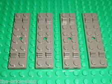 4 x Traverse rail LEGO TRAIN Track Sleeper 4166 / Set 7745 7722 7735 7727 7715..