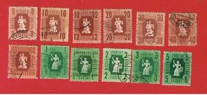 Hungary #788A-799  MVFLH OG  Industry & Agriculture  Free S/H