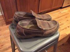 Dr. Martin Men's slip on loafer,Brown sz 11 M