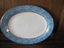 Earthenware Blue Staffordshire Pottery Platters