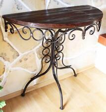 Tisch Wandtisch Hx12582 Beistelltisch Konsole Halbrund 82cm Wandkonsole