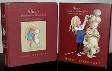 Alice's Adventures In Wonderland & Through Looking Glass- Lewis Carroll 2 Bks