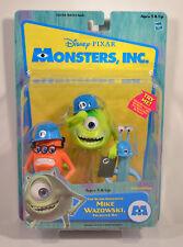 "2001 Mike Wazowski Frungus Fungus & Charlie (Ray) 5"" Action Figure Monsters Inc"