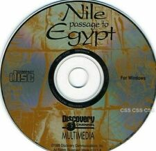 Discovery Channel Multimedia Nile Passage to Egypt Software Cd Windows Vintage