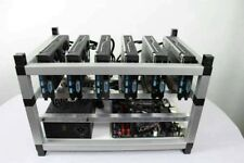 Crypto Coin Mining Rig 4500 Sols/s 330 MH/s Zcash ZEC Ethereum ETH 6x GTX 1080Ti