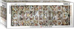 Eurographics Puzzle 1000 Piece Jigsaw Sistine Chapel , Michelangelo EG60100960