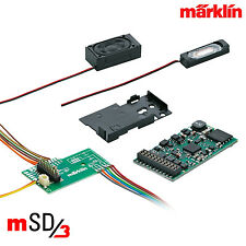 Märklin 60976 H0 SoundDecoder mSD3 / 21-polig (Dieselloks) ++ NEU & OVP ++