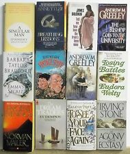12 books POPULAR NOVELS BEST SELLERS Great Stories Lot #A151 Free US S/H