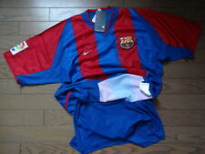 FC Barcelona 100% Authentic Player Issue Jersey Shirt L 2002/03 Home BNWT Rare