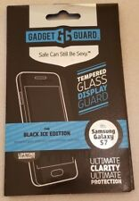 Glass Screen Protector for Samsung Galaxy S7, Gadget Guard Black Ice Edition