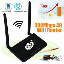 4G LTE Wireless Router Wifi 300Mbps Mobile Hotspot Router with SIM Card Slot UK