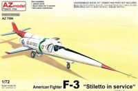 1/72 scale USAF F-3 Stiletto in Service model aircraft kit by AZ Models.
