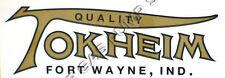 "Tokheim Logo 7"" Vinyl Decal (DC128)"