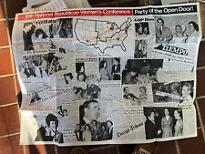"""Large 1972 Republican Campaign Poster 28 1/2"""".39 1/2"""" + More"""