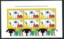 Bund Düsseldorf-Block Block 21 zur 10. Internat. Briefmarkenausstellung d.Jugend
