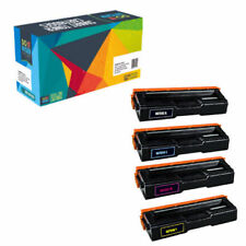 4-Pack Toner Set for Ricoh SP C250DN C250SF SPC250DN SPC250SF C250 C250A 407539