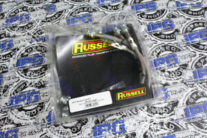 Russell Stainless Steel Braided Brake Lines For 1993-1997 Toyota Supra A80
