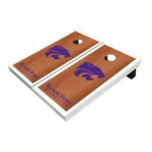 Kansas State Wildcats Rosewood Cornhole Boards - The Perfect Christmas Gift