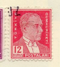 Turkey 1950-51 Early Issue Fine Used 12k.