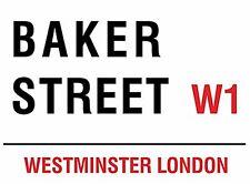 Baker Street, London (Sherlock Holmes) small steel sign (og 2015)