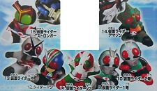 Masked Kamen Rider Kick No.1 No.2 V3 Riderman X Amazon Stronger Set of 7 Figures