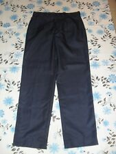 Work Craft mens size 34 inch or 87R blue full length work pants in VGC