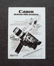 K595- Advertising Pubblicità -1973- CANON AUTOZOOM 1014 ELECTRONIC