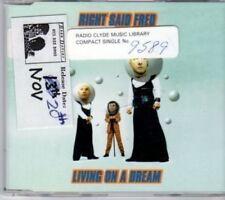 (BU661) Right Said Fred, Living On A Dream - 1995 DJ CD