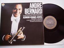 "Andre Bernard - Trumpet concerto etc. 12"" Lp CBS 1979"