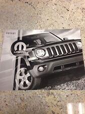 2013 Jeep Patriot Accessories 8-page Original Sales Brochure