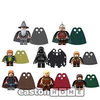 CUSTOM cape for Lego Lord of the Rings minifig   Gandalf, Ringwraith, Haldir etc