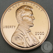 2000-S LINCOLN MEMORIAL PROOF PENNY GEM DEEP CAMEO **MAKE AN OFFER**