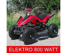 Elektro 800W ATV Kinderquad Pocketquad Miniquad Racer Quad Pocket Bike rot NEU