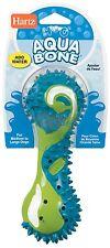Hartz  H Chew 0 Dog Freeze Play Toy - Aqua Bone - Large