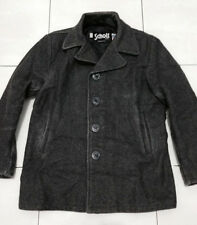 Authentic SCHOTT NYC wool peacoat size 38