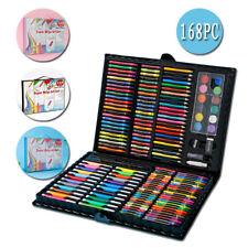 ART SUPPLIES KIT Kids Sketching Adults Painting Artist 168 Piece Drawing Set