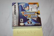 Mega Man & Bass (Game Boy Advance) NEW SEALED H-SEAM, MINT & RARE!
