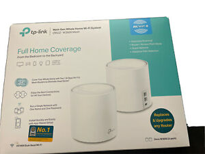 TP-Link Deco W3600 Wi-Fi 6 AX1800 Mesh WiFi Router  (2-Pack) Used Great Cond.