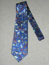 Museum Artifacts / Frogs Necktie Tie - 100% Silk - Free Shipping