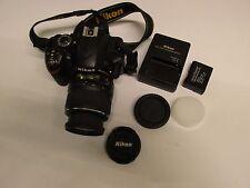 Nikon D D3200 24.2MP Digital SLR Camera Black Kit w/ AF-S DX ED II 18-55mm Lens