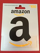 $100 Amazon Gift Card **Free Shipping**