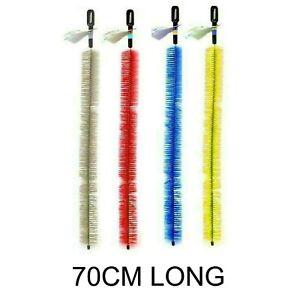 Long Reach Flexible Radiator Brush Heater Heating Duster Bristle Cleaner 70cm UK