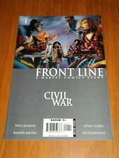 CIVIL WAR FRONT LINE #1 MARVEL COMICS NM (9.4)